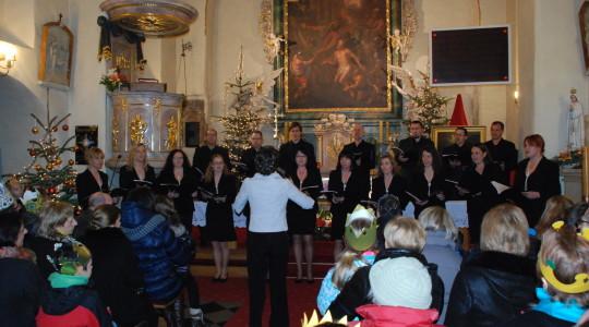 06.01.2014  Koncert kolęd chóru Sanctus Andreus w naszym kościele