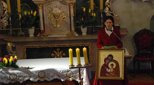 02.03.2014  BUDZIMY OLBRZYMA Eucharystia przygotowana przez wspólnotę Comunione e Liberazione