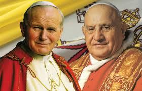 Jan Paweł II i Jan XXIII
