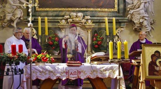 30.11.2014  Odpust parafialny  Wizytacja kanoniczna ks. abpa Józefa Kupnego