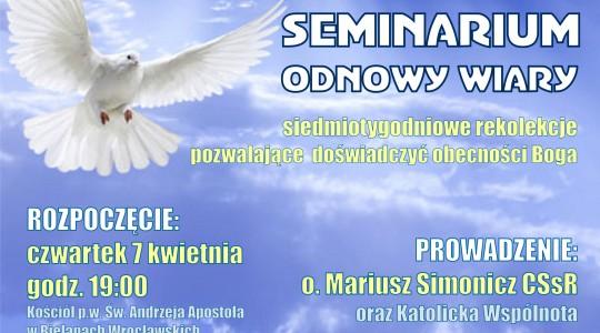 07.04.2016 Seminarium Odnowy Wiary