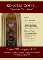 07.05.2016 Koncert Gospel chóru Sanctus Andreus w Żernikach Wr.