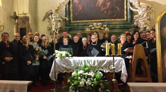21.10.2016 Koncert chórów Notre Dame des Eaux z Francji i Sanctus Andreus z naszej parafii