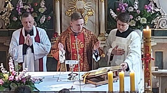 Msza św. prymicyjna neoprezbitera ks. Michała Zalota