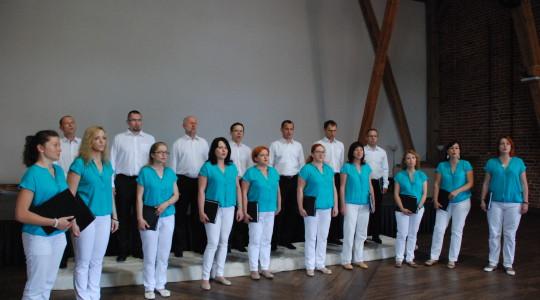 29.06.2014 Koncert chóru Sanctus Andreus w Zamku Topacz