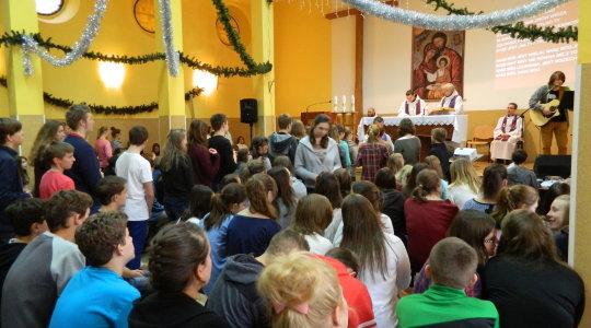 05- 07.12.2014  Rekolekcje dla młodzieży na Górze św. Anny